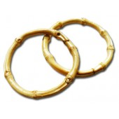 Bamboo ring - large pack of 2