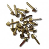 Bag feet - 8mm gold