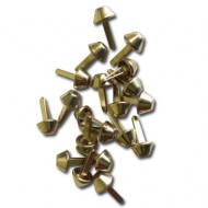 Bag feet - 10mm gold