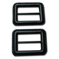 Leather buckle - Black - Small