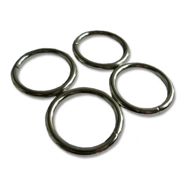 O-rings - Silver small pack of 4