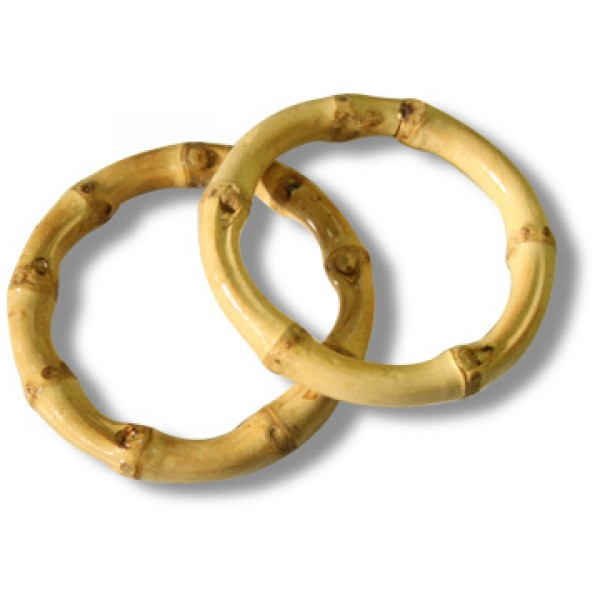 Bamboo ring - small pack of 2