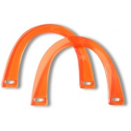 Acrylic bag handles - Horse shoe - Red