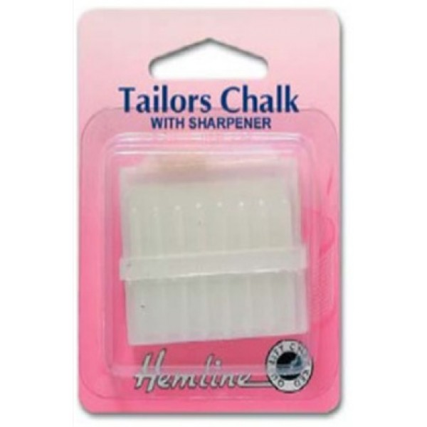 Tailor's Chalk - White with sharpener
